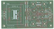 Symmetrisches Audio Netzteil mit EI 42 6VA V2.0 2020 Leiterplatte
