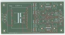 Symmetrisches Audio Netzteil mit EI 54 16VA V2 2020 - Leiterplatte