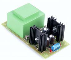 Symmetrisches Audio Netzteil mit EI 54 16VA V2 2020 12V, 15V, 18V, oder 24V - Bausatz