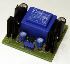 Symmetrisches Netzteil mit EI 42 5VA in 5V, 12V, 15V, 18V oder 24V Version Bausatz