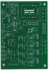 4 Kanal lauflicht 230V nach Tackt oder Musik Tackt 2021 - Leiterplatte ohne Bauteile
