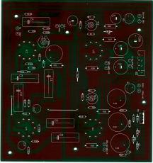 EL 84 PP Amp - Leiterplatte ohne Bauteile