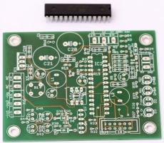 2 Ch Regler ( Auto Bias ) für Röhrenverstärker - Leiterplatte + AT Mega48, Programmiert