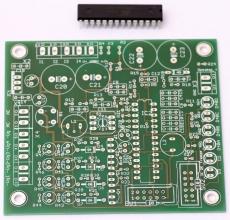 4 Ch Regler ( Auto Bias ) für Röhrenverstärker - Leiterplatte + AT Mega48, Programmiert