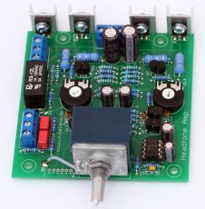 High End Headfone Amp 1000 mW 16 – 600 Ohm  - Bausatz - Blue