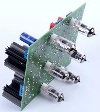 Röhren Pre Amp mit Abschaltbarer Klangreglung -Bausatz mit Röhren und Alps Potis, Standard