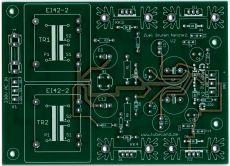 2 Fach Netzteil für Hochempfindliche Vorverstärker - Leiterplatte