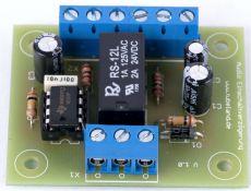 Audio Timer gegen starke Einschaltgeräusche - Bausatz
