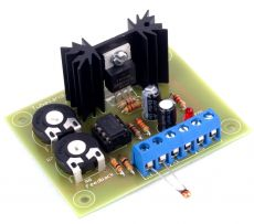 Lüftersteuerung 12V – 24V Bausatz incl. NTC