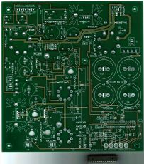 KT 88, KT120 etc. Amp PP mit dem Atmega 48 on Bord Integriert (mit Prozessor gesteuerter Auto Bias) Leiterplatte