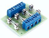 Fuse Board 4 Fach Bausatz Max 6,3A