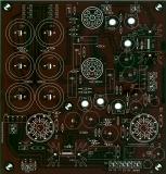 KT 88, EL 34, KT 120, oder Röhren mit Gleicher Pinbelegung PP Amp - Leiterplatte