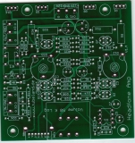High End Headfone Amp 1000 mW 16 – 600 Ohm  - Leiterplatte ohne Bauteile