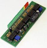 VU Meter 16 LED´s -43dB - + 6dB Log. - Bausatz mit 2,5 x 5 mm LED