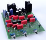 Röhren Pre Amp mit Abschaltbarer Klangreglung -Bausatz Ohne Röhren und Alps Potis, Standard