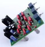 Röhren Pre Amp mit Abschaltbarer Klangreglung -Bausatz mit Röhren und Alps Potis, Blue Serie