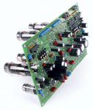 6AS7G PP Leiterplatte + 3 Stk. ATmega48, Programmiert